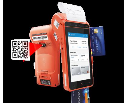 Мобильная касса Urovo i9100 SmartPOS ( MC9100-SC5S8E00B00 )